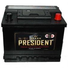 Аккумуляторы АКБ Super President 190